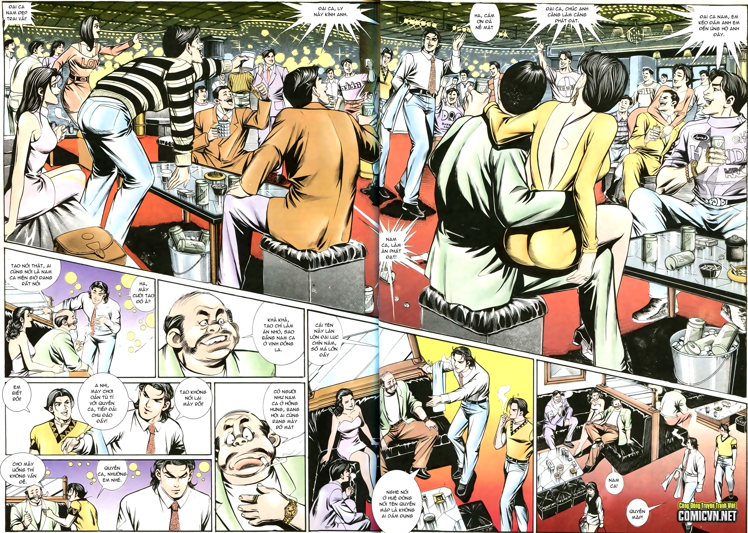 Người Trong Giang Hồ chapter 202: đối đầu trang 14