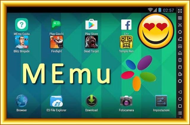 تحميل (محاكي الاندرويد ) برنامج تشغيل العاب وتطبيقات الاندرويد على الكمبيوتر MEmu