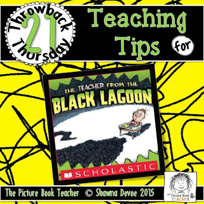 The Teacher From The Black Lagoon by Mike Thaler TBT - Teaching Tips.