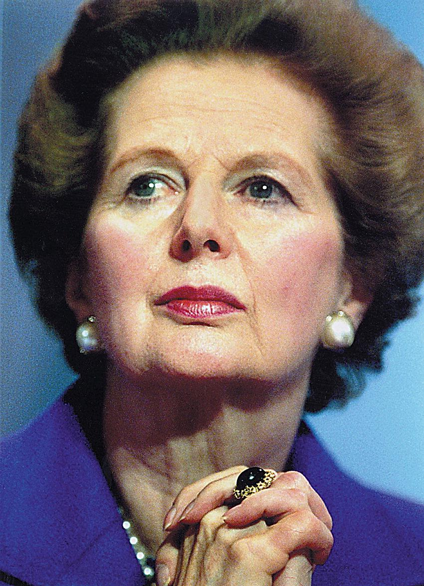 I Was Here.: Margaret Thatcher
