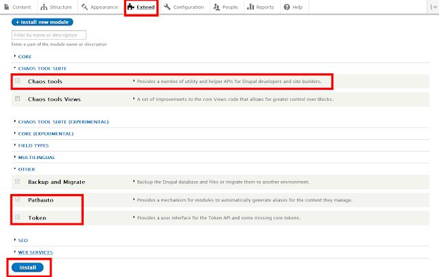 create SEO Friendly URls in Drupal