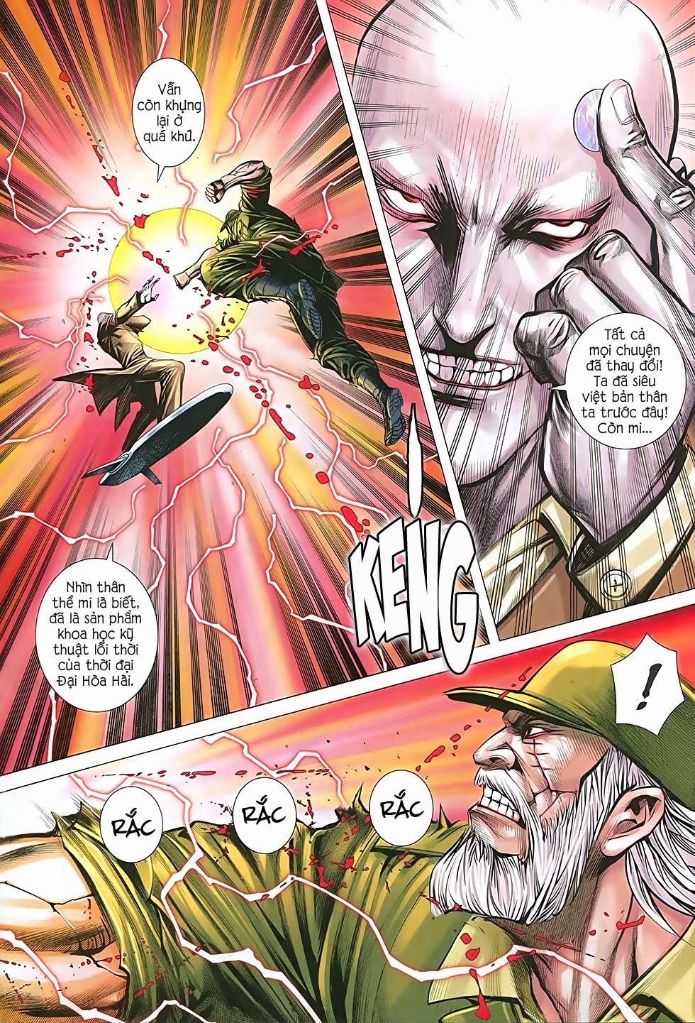 Đại Quân Phiệt chap 36: cuộc chiến cuối của castro trang 11