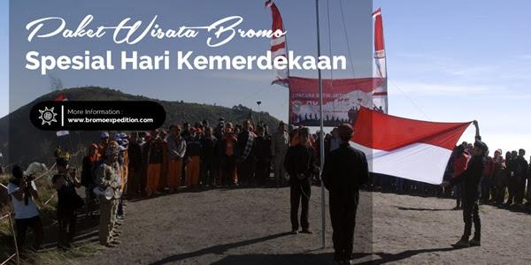 Paket Wisata Bromo Hari Kemerdekaan 2017