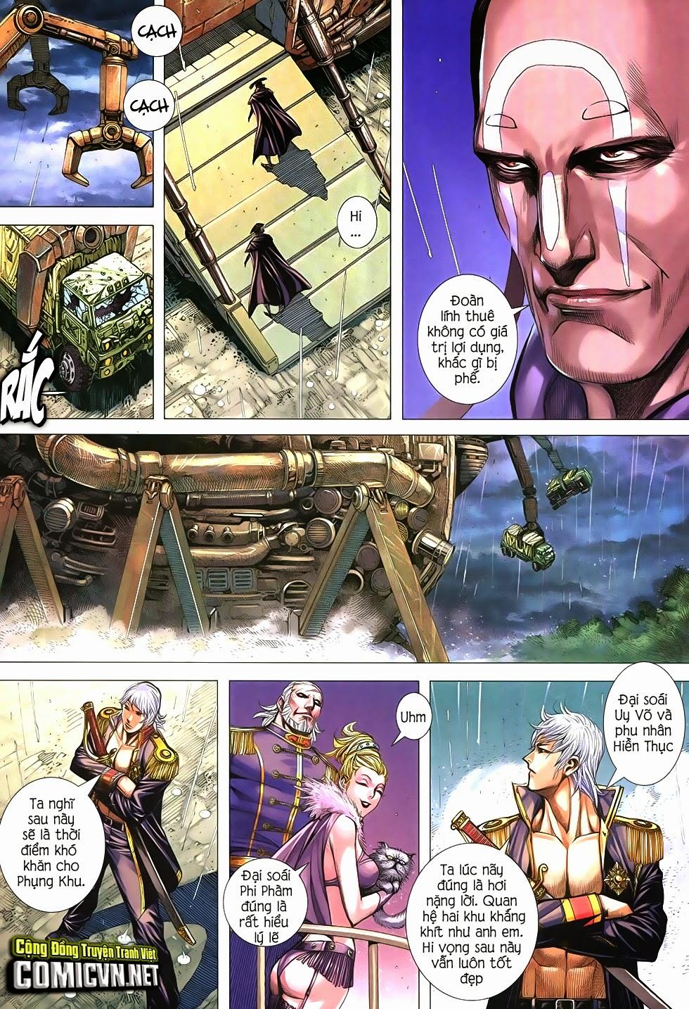 Đại Quân Phiệt chap 21 trang 11