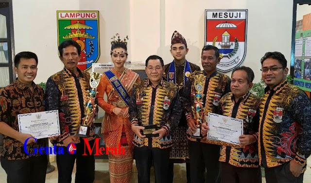 Lampung Fair, Anjungan Mesuji Dikunjungi 2.940 Raih Empat Penghargaan