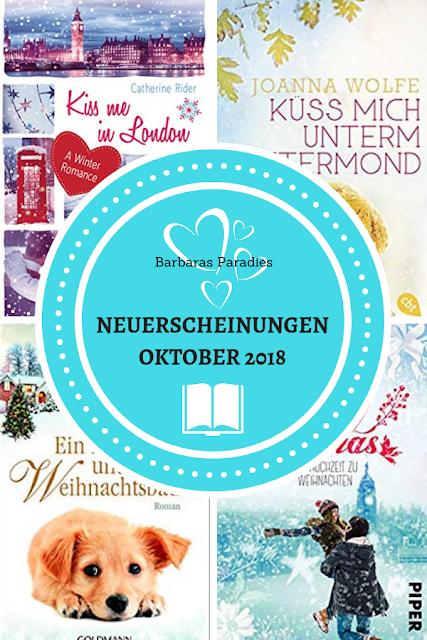 Neuerscheinungen im Oktober 2018 #1 - Winter- und Weihnachts-Special