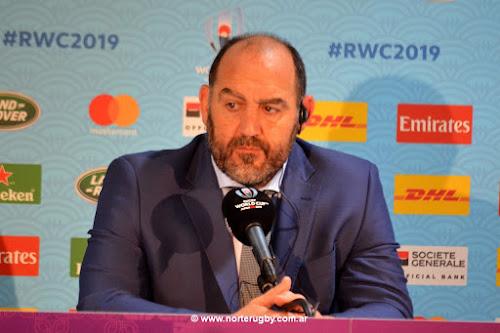 Mario Ledesma, Heac Coach de Los Pumas #RWC2019 #Japan2019