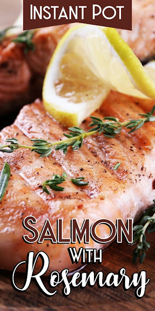 Instant Pot Salmon With Rosemary