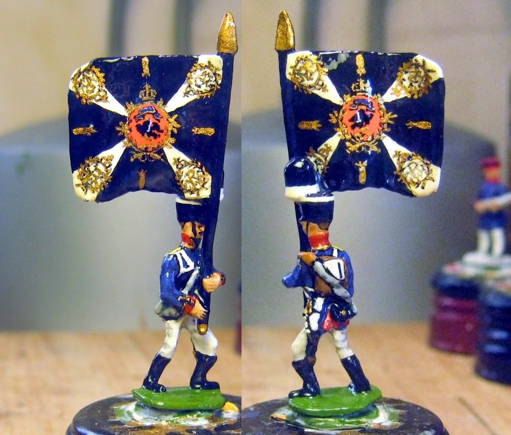Der Kriegspieler Prussian Guard Standard Bearer