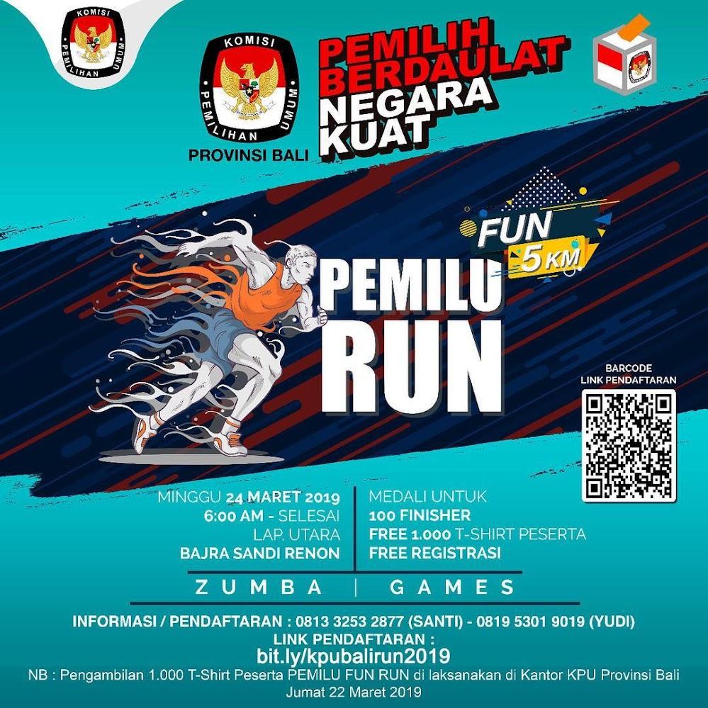 Pemilu Fun Run Bali  • 2019