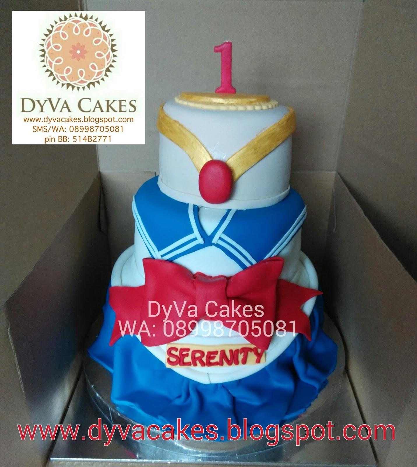 Brilliant Dyva Cakes Sailor Moon Birthday Cake Personalised Birthday Cards Beptaeletsinfo