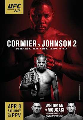 Review of UFC 210 pay-per-view Cormier vs Johnson