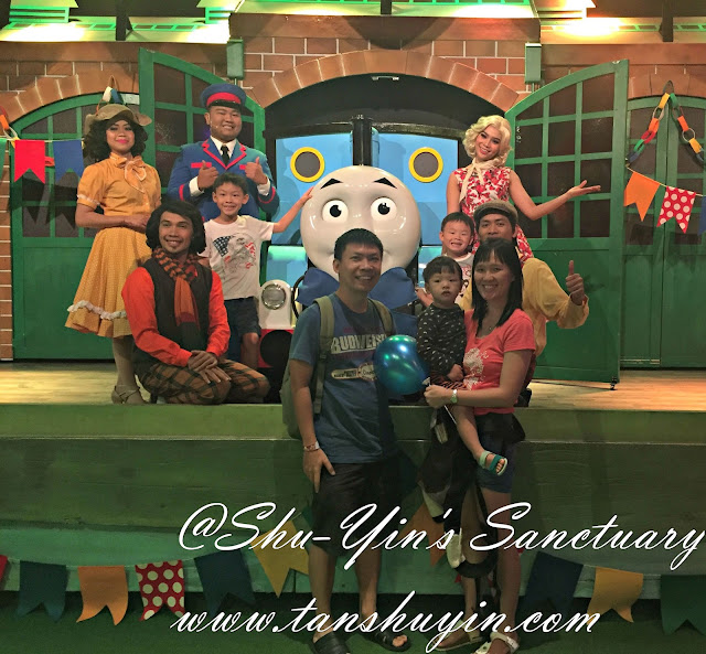 Shu yins sanctuary johor with kids thomas town sanrio hello a photo with thomas the tank engine and crew m4hsunfo