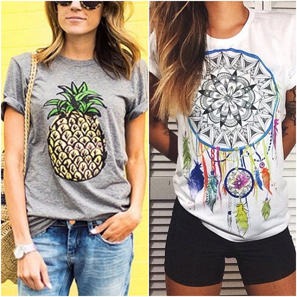 onde comprar blusas e t-shirts estilosas