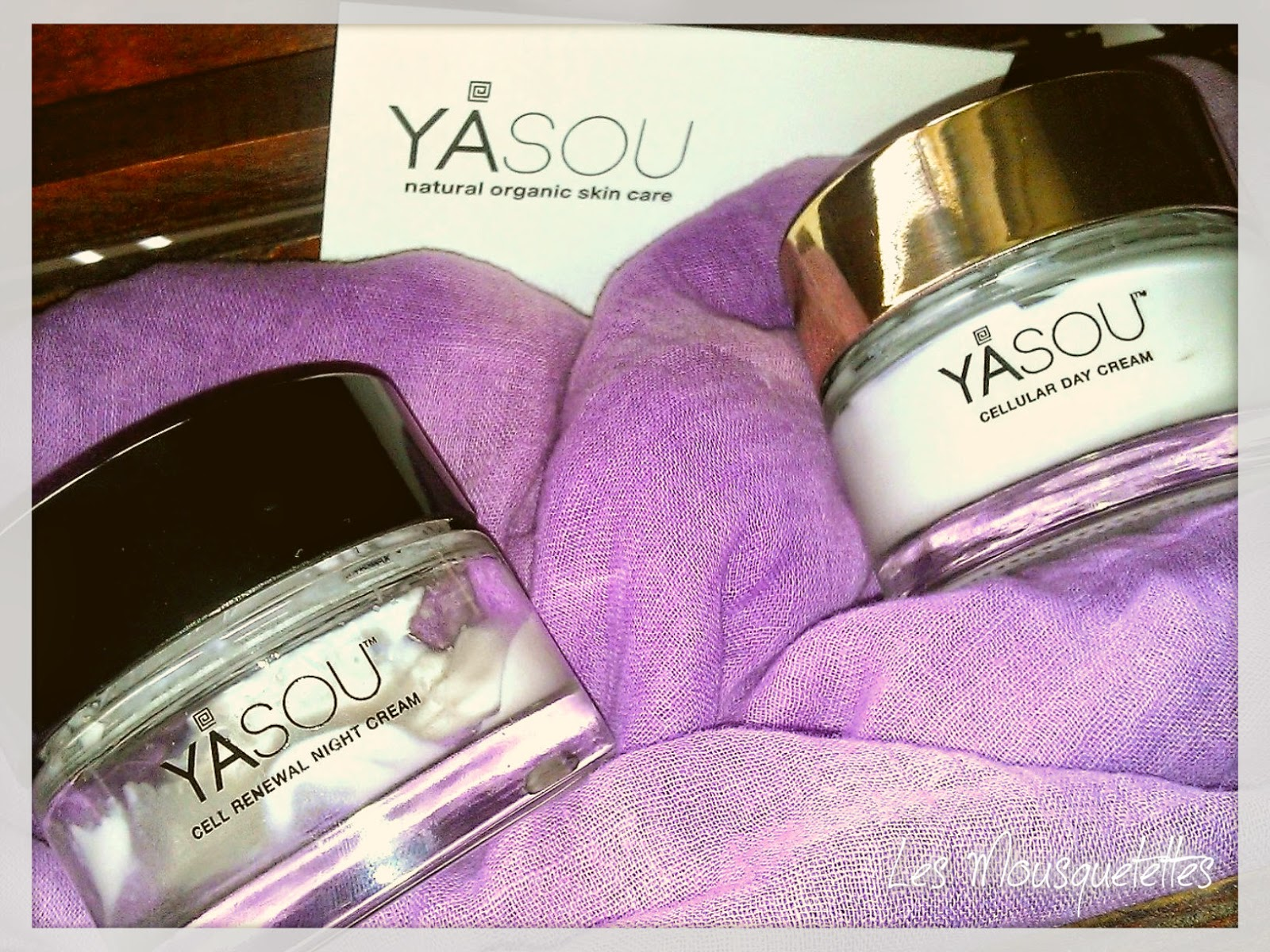 Cellular Day Cream / Cell Renewal Night Cream Yasou Skincare - Les Mousquetettes©