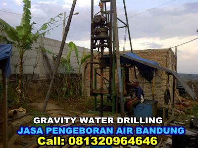 jasa pengeboran air tanah di daerah bandung dan sekitarnya