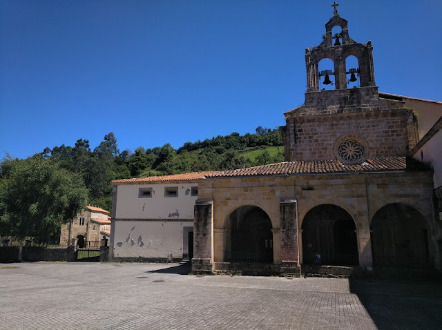 Monasterio de Valdedios en Villaviciosa (Asturias-España)