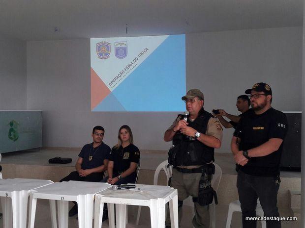 """Polícia divulga resultados da """"Operação Feira do Troca"""" em Santa Cruz do Capibaribe"""