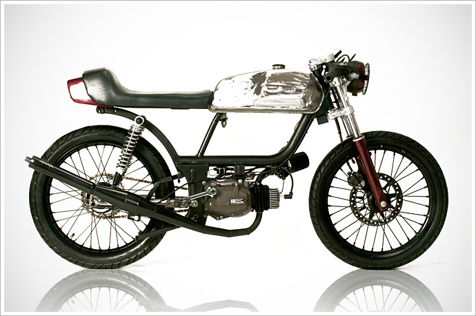 Puch Moped Quot Blood Lust By Rogue Creation Lsr Bikes