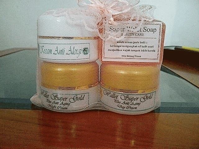 Paket Cream Walet Gold 4 in 1