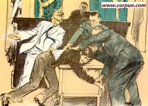 Boy spanked in court