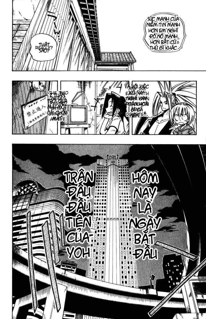 Shaman King [Vua pháp thuật] chap 33 trang 10