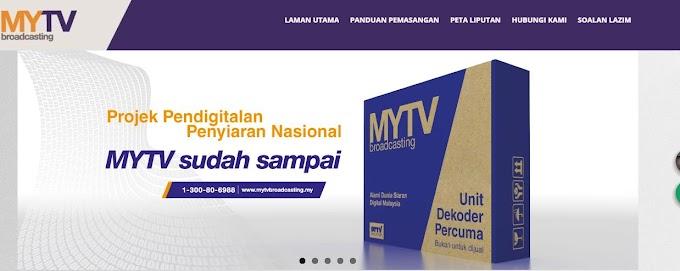 Semak kelayakan Unit Dekoder Percuma MYTV