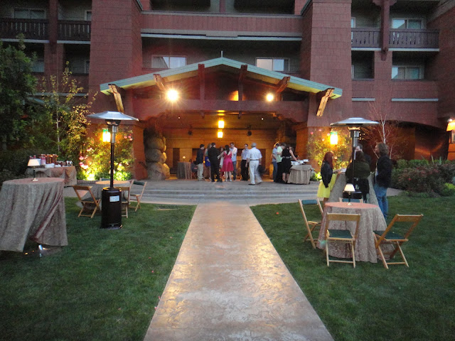 Wedding Garden - Disney's Grand Californian Hotel