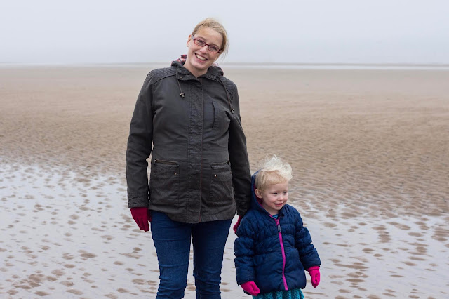 37 weeks pregnant and on Brancaster Beach Norfolk on Boxing Day