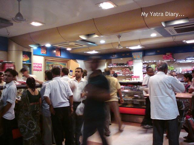 Brijwasi sweet shop near Holi Gate in Mathura