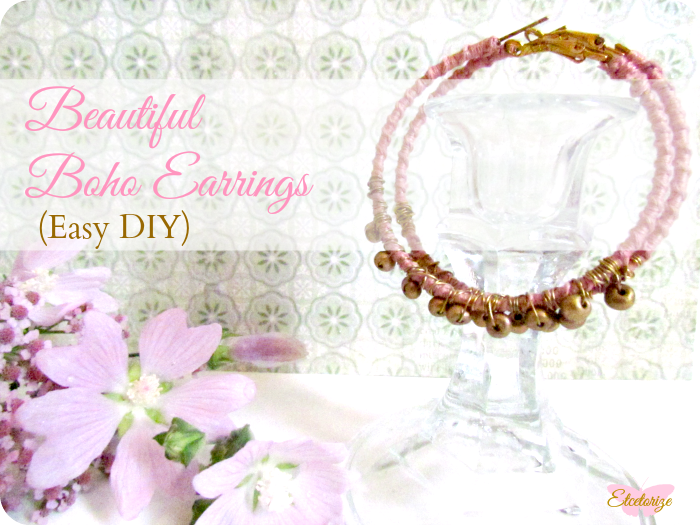 Boho, Bohemian, Festival style, DIY earrings