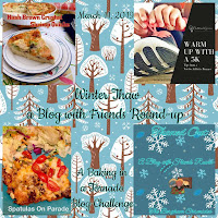 Blog With Friends, a multi-blogger project based post incorporating a theme, Winter Thaw. | Graphic by Jules of The Bergham Chronicles | Featured on www.BakingInATornado.com
