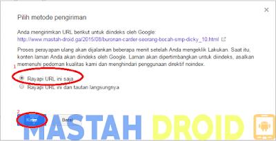 cara buat sitemap digoogle webmaster