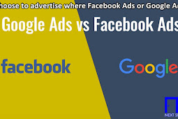 Choose to advertise where Facebook Ads or Google Ads