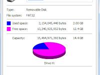 Cara Lain Atasi FlashDisk Penuh tapi Tidak ada File