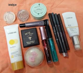 ling daily makeup