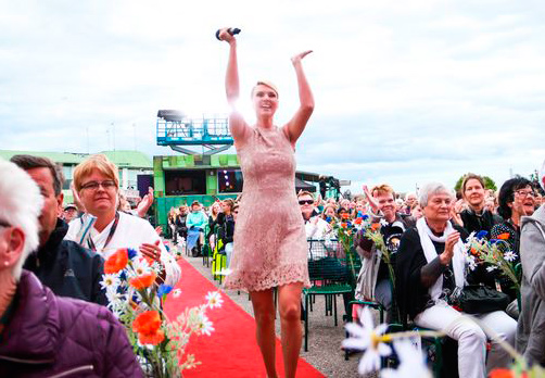 Sanna Nielsen (Photo: Niklas Lindman/SVT)