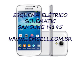 Esquema Elétrico Celular Smartphone Samsung Galaxy S4 Mini GT I9195 Manual de Serviço  Service Manual schematic Diagram Cell Phone Smartphone Samsung Galaxy S4 Mini GT I9195