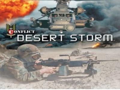 تحميل لعبة عاصفة الصحراء وتنزيل Conflict desert storm للكمبيوتر برابط مباشر مجانا