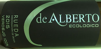 Blanco Verdejo Ecológico 2015, de Bodegas De Alberto