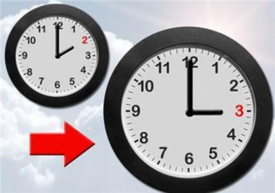 نهاية مارس موعد عودة الساعة الجديدة