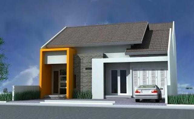 Desain Mewah Rumah Minimalis type 72