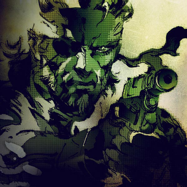Metal Gear Solid 3 Naked Snake Big Boss MGS OST Wallpaper
