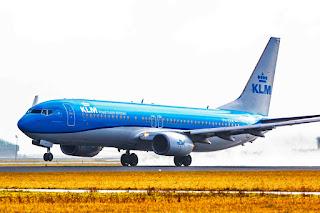 KLM Boeing NYSE:BA 737