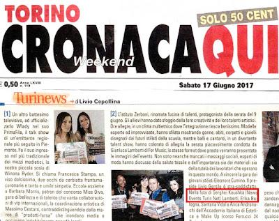 Fotograf Kaushka Photography News Events Turin в туринской газете