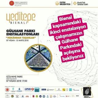 Yeditepe Bienal enstalasyonu