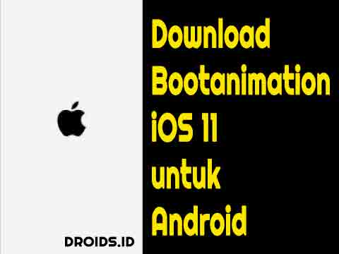 download bootanimation iOS11