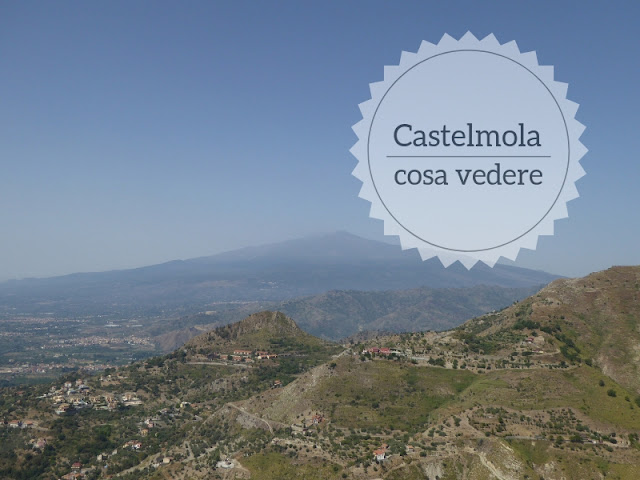 Castelmola: il balcone sopra Taormina