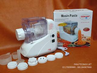 mengaduk-mencetak 5 jenis pasta,baso-sosis,proses hanya 5 menit