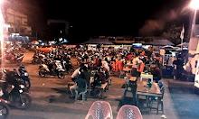 Malam Minggu Terminal Lawang Kuari tempat Bersantainya Keluarga